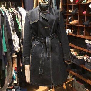 BCGB denim trench coat